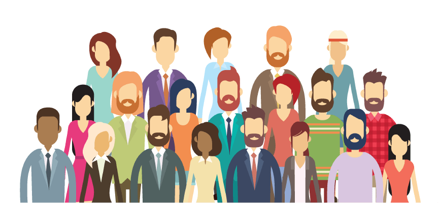 Corey Ciocchetti speaks to professional audiences such as accountants, doctors, health care professionals, engineers, financial managers, city, state, and federal government employees and many others. This is a cartoon picture of businesspeople. Click on it to see testimonials from Corey Ciocchetti's professional audiences.