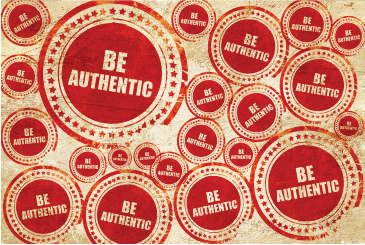"""This is a picture of the words, """"Be Authentic"""" in circles. Corey Ciocchetti is a motivational speaker who speaks about authentic happiness. Corey believes that a person can only experience authentic happiness if they chase things like sincere contentment, solid friendships / relationships, and strong character. Corey also speaks about values, integrity, and ethical decision-making."""